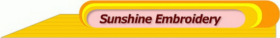 Sunshine Embroidery Logo