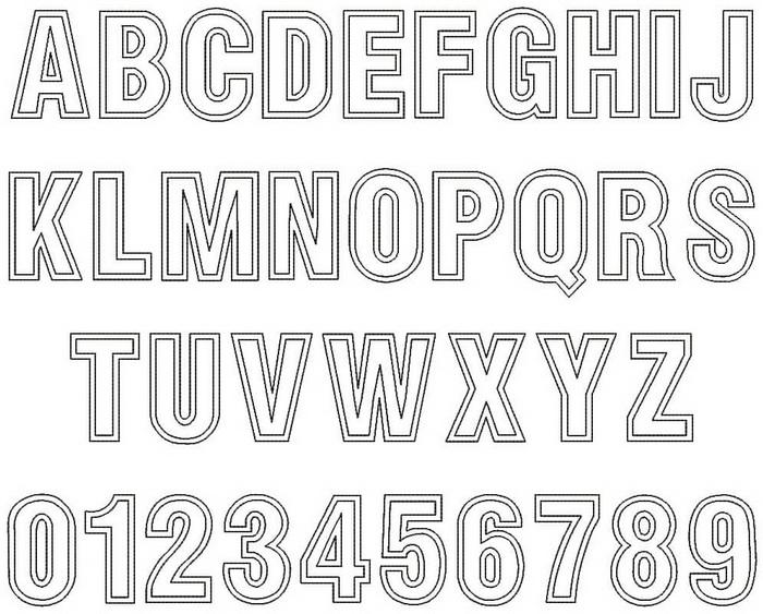 font outlines